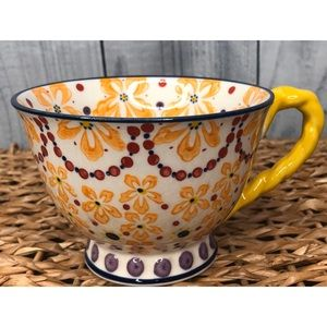 Anthropologie Large Teacup Mug Trinket Dish